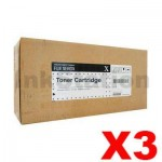 3 x Fuji Xerox DocuPrint M465AP Genuine Black High Yield Toner Cartridge - 25,000 pages (CT202373)