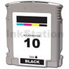 HP 10 Compatible Black Inkjet Cartridge C4844AA - 1,430 Pages