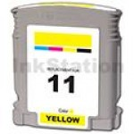 HP 11 Compatible Yellow Inkjet Cartridge C4838AA - 1,830 Pages