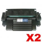 2 x HP 92298A (98A) Compatible Black Toner Cartridge - 6,800 Pages