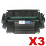 3 x HP 92298A (98A) Compatible Black Toner Cartridge - 6,800 Pages