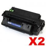 2 x HP Q2610A (10A) Compatible Black Toner Cartridge - 6,000 Pages
