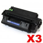 3 x HP Q2610A (10A) Compatible Black Toner Cartridge - 6,000 Pages