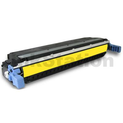 HP C9732A (645A) Compatible Yellow Toner Cartridge - 12,000 Pages