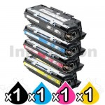 4 Pack HP Q2670A-2673A (308A/309A) Compatible Toner Cartridges [1BK,1C,1M,1Y]