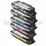 5 Pack HP Q2670A-2683A (308A/311A) Compatible Toner Cartridges [2BK,1C,1M,1Y]