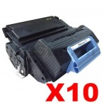 10 x HP Q5945A (45A) Compatible Black Toner Cartridge - 18,000 Pages