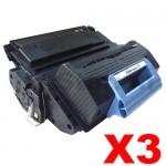 3 x HP Q5945A (45A) Compatible Black Toner Cartridge - 18,000 Pages