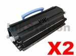 2 x Lexmark X203/X204 Compatible Toner Cartridge X203A11G - 2,500 pages