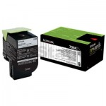 1 x Lexmark (70C80K0) Genuine CS310 / CS410 / CS510 Black Standard Yield Toner Cartridge - 1,000 pages