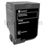 Lexmark 74C6HK0 Genuine CS720 / CS725 Black High Yield Return Program Toner Cartridge - 20,000 pages
