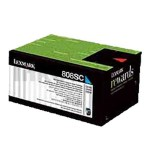 1 x Lexmark (80C8SC0) Genuine CX310 / CX410 / CX510 Cyan Standard Toner Cartridge - 2,000 pages