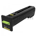 Lexmark 82K6UY0 Genuine CX860 Yellow Ultra High Yield Return Program Toner Cartridge - 55,000 pages