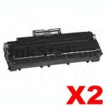 2 x Compatible Samsung ML-1210D3 Black Toner Cartridge - 3,000pages