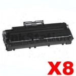 8 x Compatible Samsung ML-4500D3 Black Toner Cartridges - 2,500 pages