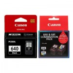 3-Pack Canon PG-640 + (PG-640,CL-641 -  Twin Pack) Genuine Ink Cartridges [2BK,1CL]