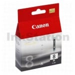 Genuine Canon CLI-8BK Black Inkjet Cartridge