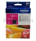 Genuine Brother LC-131M Magenta Ink Cartridge - 300 Pages