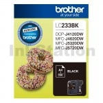 Genuine Brother LC-233BK Black Ink Cartridge - 550 pages