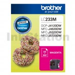 Genuine Brother LC-233M Magenta Ink Cartridge - 550 pages