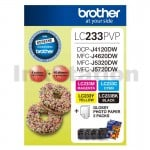 Genuine Brother  LC-233PVP Photo Value Pack [BK+C+M+Y+Photo Paper]