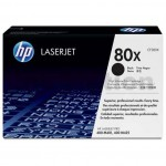 1 x HP CF280X (80X) Genuine Black Toner Cartridge - 6,900 Pages