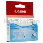 Genuine Canon CLI-521C Cyan Inkjet