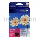 Genuine Brother LC-39M Magenta Inkjet Cartridge - 260 pages