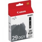 Genuine Canon PGI-29DGY Dark Grey Ink Cartridge