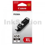 Canon PGI-650XLBK Genuine Black High Yield Inkjet Cartridge