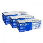 3 x Brother TN-2150 Genuine Toner - 2,600 pages