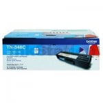 Genuine Brother TN-348C Cyan Toner Cartridge - 6,000 pages