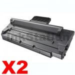 2 x Compatible  Samsung SCX4016 / SCX4216F Black Toner Cartridge - 3,000 pages (SCX-4216D3)