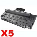 5 x Compatible Samsung SCX4016 / SCX4216F Black Toner Cartridge - 3,000 pages (SCX-4216D3)