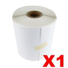 1 Roll Direct Freight Express Labels Perforated Thermal Label 100mm X 150mm - 350 Labels per Roll (Roll diameter 10.5cm)