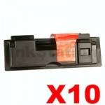 10 x Non-Genuine alternative for TK-164 Black Toner suitable for Kyocera FS-1120D, P-2035D - 2,500 pages