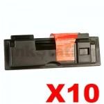 10 x Non-Genuine TK-55 Black Toner Cartridge For Kyocera FS-1920 - 15,000 pages