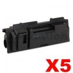 5 x Non-Genuine TK-18 Black Laser Toner Cartridge For Kyocera FS-1020D, FS-1020DN, FS-1118MFP, KM-1500, KM-1815, KM-1820 - 7,200 pages