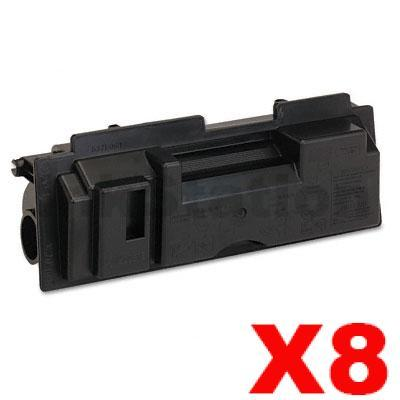 8 x Non-Genuine TK-18 Black Laser Toner Cartridge For Kyocera FS-1020D, FS-1020DN, FS-1118MFP, KM-1500, KM-1815, KM-1820 - 7,200 pages