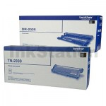 Brother Genuine TN-2330 Toner Cartridge + DR-2325 Drum Unit Combo