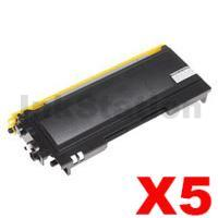 5 x Brother TN-3340 Compatible Toner - 8,000 pages