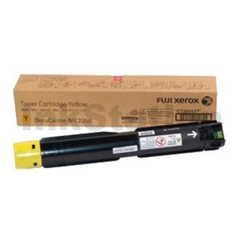 Genuine Fuji Xerox DocuCentre IV C2260, C2263, C2265 Yellow Toner Cartridge (CT201437) - 15,000 pages