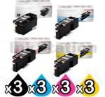 3 sets of 4 Pack Genuine Fuji Xerox DocuPrint CP105 CP205 CM205 CM215 CP215 Toner Cartridges(CT201591-CT201594)