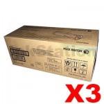 3 x Fuji Xerox DocuPrint P455d M455DF Genuine Toner Cartridge - 25,000 pages (CT201949)