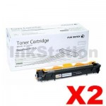 2 x Genuine Fuji Xerox DocuPrint P115b,P115w,M115w,M115fw Black Toner - 1,000 pages (CT202137)