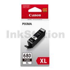 Canon PGI-680XLBK High Yield Genuine Black Inkjet Cartridge - 400 pages