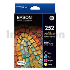 Epson 252 Genuine Ink Value Pack [C13T252692] [BK,C,M,Y]