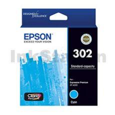 Epson 302 (C13T01W292) Genuine Cyan Inkjet Cartridge
