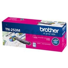 Brother TN-253M Genuine Magenta Toner Cartridge - 1,300 pages