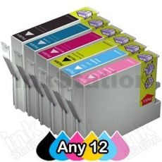 Any 12 Compatible Epson 81N series Ink Cartridge